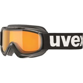 UVEX slider Kinderen, black/lasergold lite